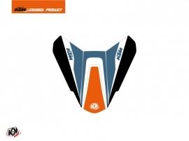 Graphic Kit Seat Cowl Moto Storm KTM Orange Blue