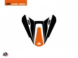 Graphic Kit Seat Cowl Moto Storm KTM Orange Black