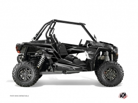 Polaris RZR 1000 Turbo UTV Abstract Graphic Kit Black Grey