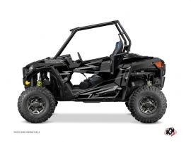 Polaris RZR 900 UTV Abstract Graphic Kit Black Grey