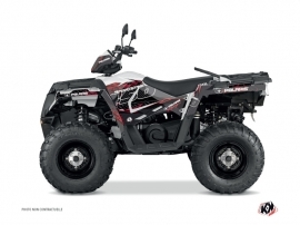 Polaris 450 Sportsman ATV Action Graphic Kit Red