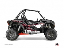 Polaris RZR 1000 UTV Action Graphic Kit Red