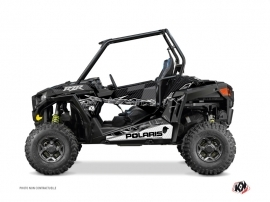 Polaris RZR 900 UTV Action Graphic Kit Black Grey