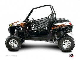 Polaris RZR 900 XP UTV Action Graphic Kit Orange