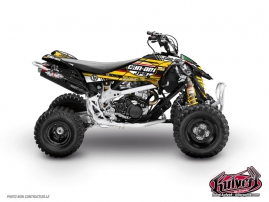 Can Am DS 450 ATV Replica Adrian Mangieu Graphic Kit 2012