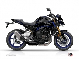 Yamaha MT 10 Street Bike Airline Graphic Kit Black Blue