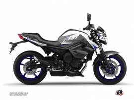 Yamaha XJ6 Street Bike Airline Graphic Kit White Blue