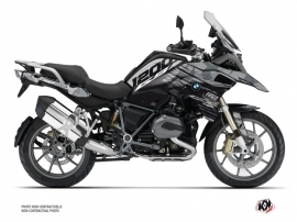 BMW R 1200 GS Exclusive Street Bike Akte Graphic Kit Grey