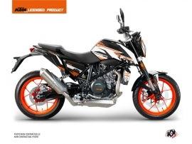 Kit Déco Moto Arkade KTM Duke 690 R Orange Blanc