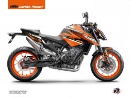Kit Déco Moto Arkade KTM Duke 790 Noir Orange