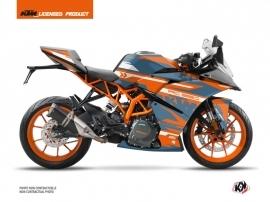 KTM 390 RC Street Bike Arkade Graphic Kit Orange Blue