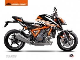 KTM Super Duke 1290 R Street Bike Arkade Graphic Kit Orange White