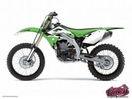 Kawasaki 125 KX Dirt Bike Assault Graphic Kit