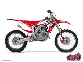 Honda 125 CR Dirt Bike Assault Graphic Kit
