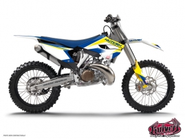 Husqvarna 125 TE Dirt Bike Assault Graphic Kit