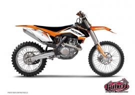 KTM EXC-EXCF Dirt Bike Assault Graphic Kit