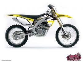 Suzuki 250 RMZ Dirt Bike Assault Graphic Kit