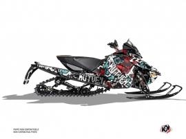 Arctic Cat Thundercat Snowmobile Aztek Graphic Kit Red Blue