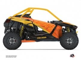 Polaris RZR PRO XP UTV Baja Graphic Kit Orange