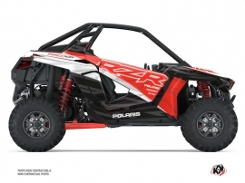Polaris RZR PRO XP UTV Baja Graphic Kit Red