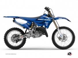 Yamaha 250 YZ Dirt Bike Basik Graphic Kit Blue
