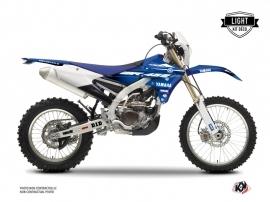 Yamaha 450 WRF Dirt Bike Basik Graphic Kit Blue LIGHT