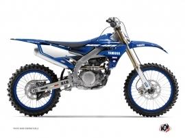 Yamaha 450 YZF Dirt Bike Basik Graphic Kit Blue