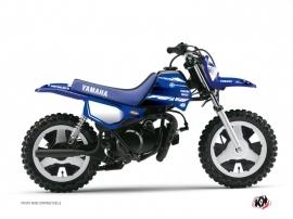 Yamaha PW 50 Dirt Bike Basik Graphic Kit Blue