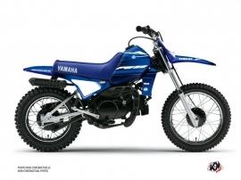 Yamaha PW 80 Dirt Bike Basik Graphic Kit Blue