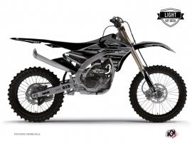 Yamaha 250 YZF Dirt Bike Black Matte Graphic Kit Black LIGHT