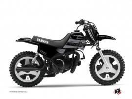 Yamaha PW 50 Dirt Bike Black Matte Graphic Kit Black