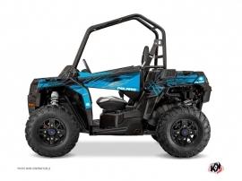 Polaris ACE 325-570-900 UTV Blade Graphic Kit Blue