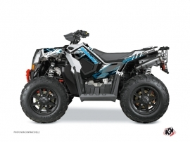 Polaris Scrambler 850-1000 XP ATV Blade Graphic Kit Blue