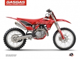 GASGAS MCF 250 Dirt Bike Border Graphic Kit Red