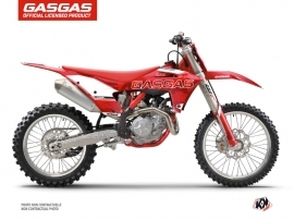 GASGAS MCF 450 Dirt Bike Border Graphic Kit Red