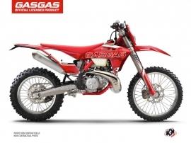 GASGAS EC Dirt Bike Border Graphic Kit Red