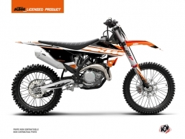 KTM 125 SX Dirt Bike Breakout Graphic Kit Orange White