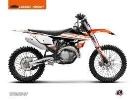 KTM 350 SXF Dirt Bike Breakout Graphic Kit Orange White