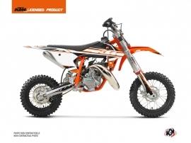 KTM 50 SX Dirt Bike Breakout Graphic Kit Orange White