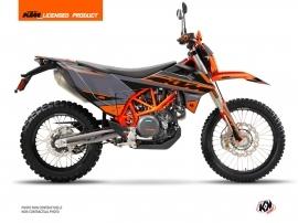 KTM 690 ENDURO R Dirt Bike Breakout Graphic Kit Grey