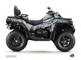 CF MOTO CFORCE 850 XC ATV Brush Graphic Kit Grey
