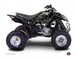 Kymco 300 MAXXER ATV Camo Graphic Kit Black Green
