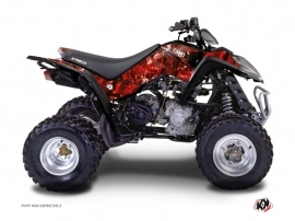 Kymco 300 MAXXER ATV Camo Graphic Kit Red