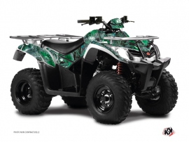 Kymco 300 MXU R ATV Camo Graphic Kit Green