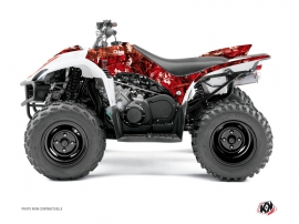 Yamaha 350-450 Wolverine ATV Camo Graphic Kit Red