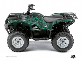 Yamaha 350 Grizzly ATV Camo Graphic Kit Green
