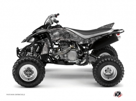 Yamaha 450 YFZ ATV Camo Graphic Kit Grey