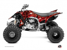 Yamaha 450 YFZ R ATV Camo Graphic Kit Red