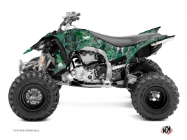 Yamaha 450 YFZ R ATV Camo Graphic Kit Green