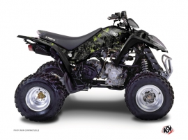 Kymco 50 MAXXER ATV Camo Graphic Kit Black Green